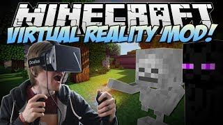 Minecraft | VIRTUAL REALITY MOD! (Razer Hydra & Oculus Rift!) | Mod Showcase thumbnail