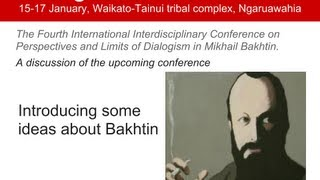 Repeat youtube video Introducing some ideas about Bakhtin