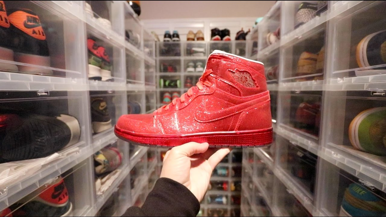 THE WORLDS MOST EXPENSIVE SNEAKER COLLECTION - YouTube