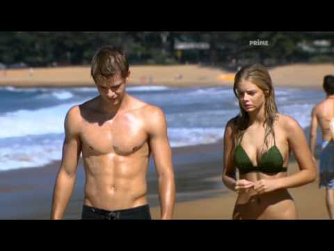 Home and Away Tessa James and Samara Weaving
