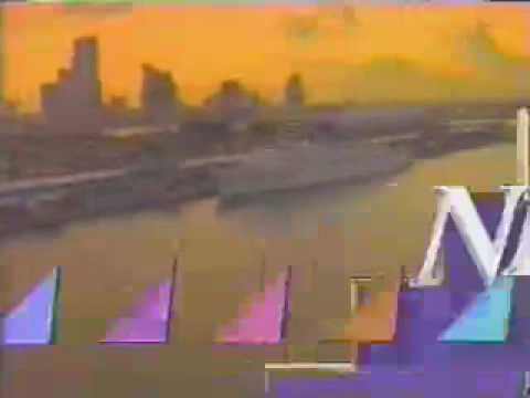 "WTVJ Miami/Fort Lauderdale-""News 4"" 6:00PM Open May 1989"