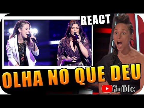 ALICIA KEYS brincou e OLHA NO QUE DEU The Voice 2018 KNOCKOUTS Jackie Foster vs Mia Boostrom