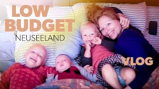 Low Budget in Neuseeland mit drei kleinen Kindern | Scherzingers Videos #176