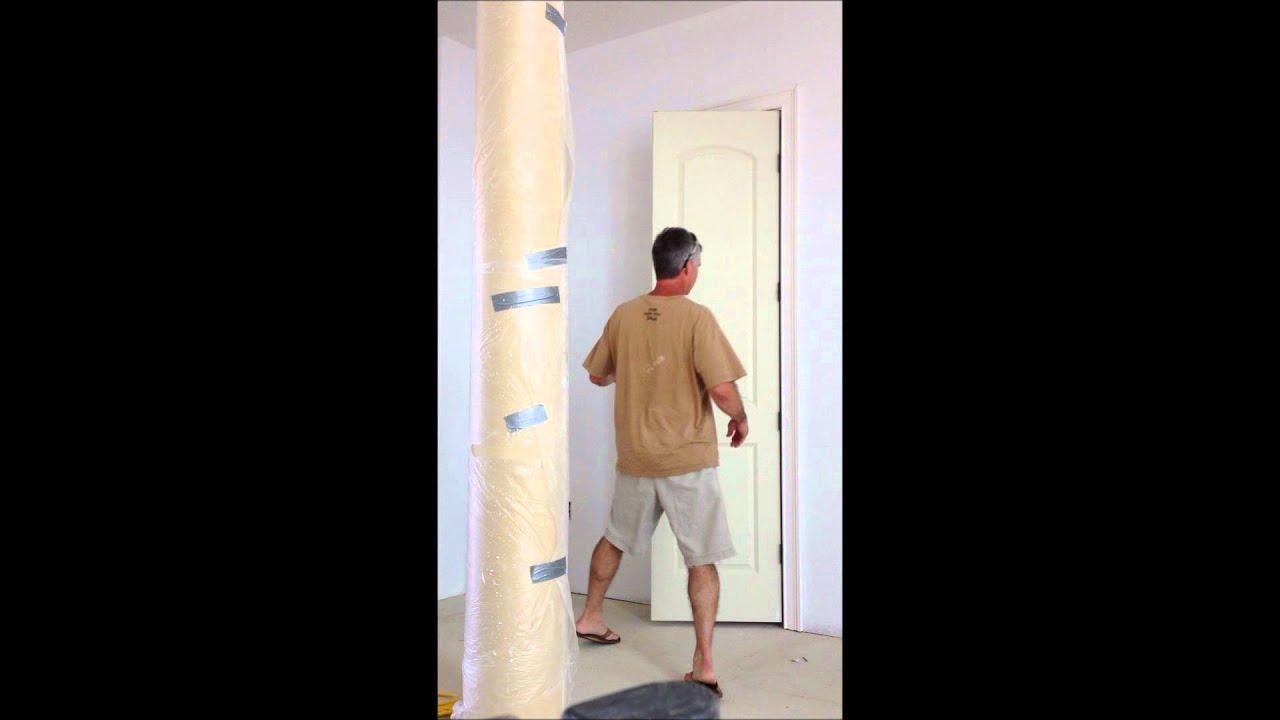 Buji Hinge With Integrated Door Stop On 8 Foot Hollow Core Doors