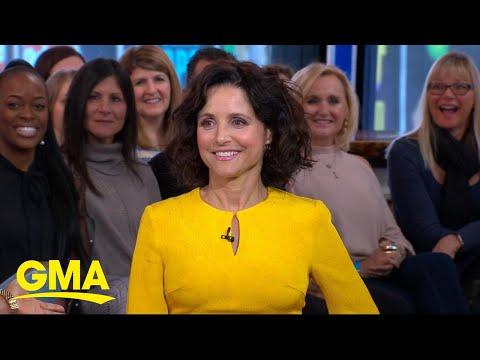 Julia Louis-Dreyfus Talks About Her Recent Breast Cancer Battle Live On 'GMA'   GMA