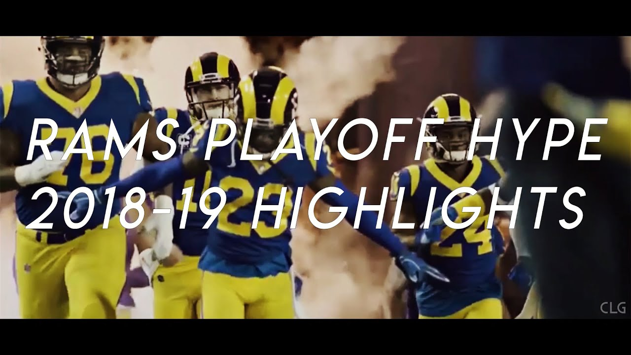 2019 Los Angeles Rams Playoffs Hype   2018-19 Highlights