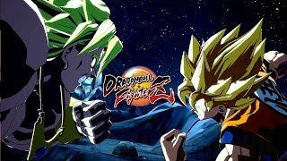 Dragon Ball FighterZ - BARDOCK & BROLY Launch Trailer @ 1080p HD ✔
