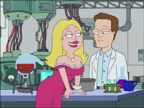 American Dad! Francine Negotiates with Scientists
