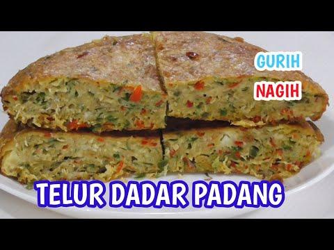 RESEP Telur Dadar Padang Ala Dhasilfa Raditya Gurih Dan Nagih