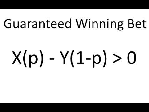 How to Win at Sports Betting Guaranteed - YouTube