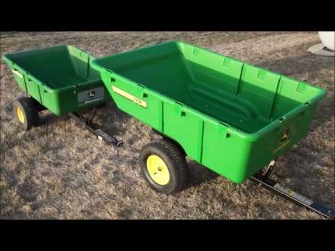 Great John Deere 10P & 17P Utility Carts