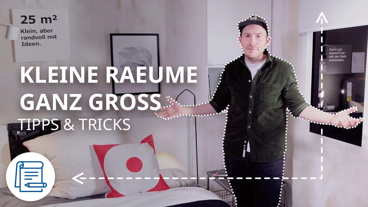 Kleine Räume einrichten | IKEA Tipps & Tricks