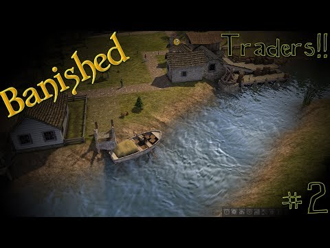 Modded Banished - Our First Trader #2