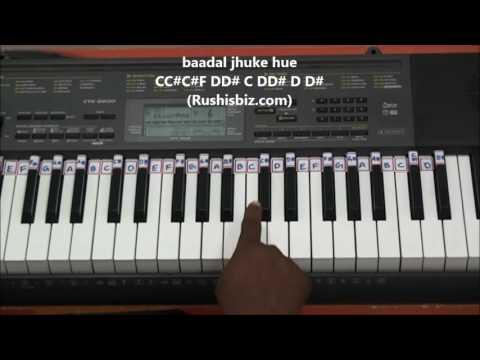 Chaudhavin Ka Chand Ho...... (Classical Piano Notes)