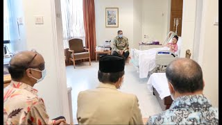 Usai Menjenguk, BJ Habibie : Ibu Ani Yudhoyono Pancarkan Semangat untuk Sembuh
