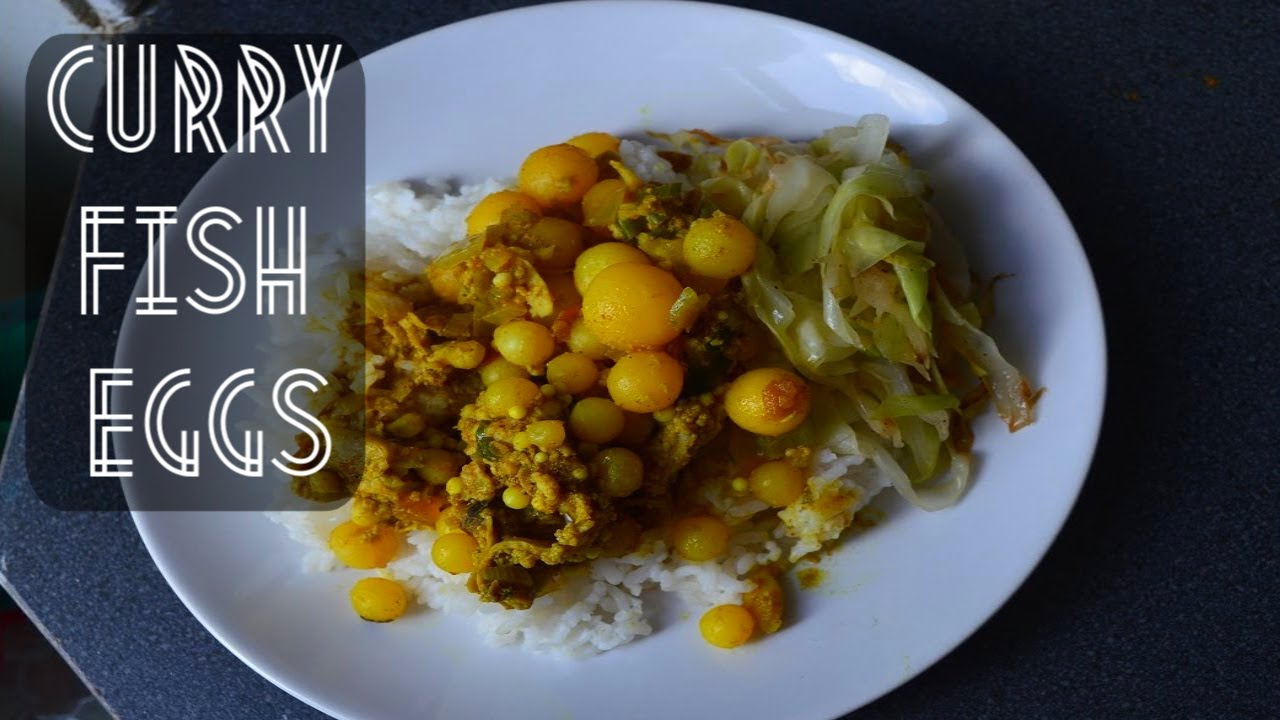 Recipe: How To Make Curry Jarabaka Fish Eggs | CWF