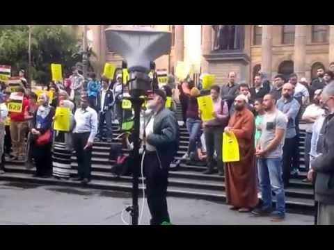 EGYPT's 529 death sentence - Melbourne Protest