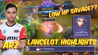 TOP 1 GLOBAL LANCELOT RANKED 2X SAVAGE?? - MOBILE LEGENDS MONTAGE