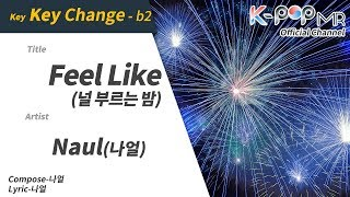 Feel Like - Naul (b2 Ver.)ㆍ널 부르는 밤 나얼 [K-POP MR★Musicen]