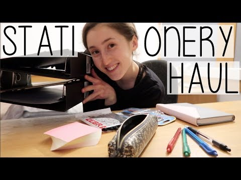 UNIVERSITY STATIONERY HAUL & STARTING FINAL YEAR LECTURES | STUDENT DAY IN THE LIFE VLOG