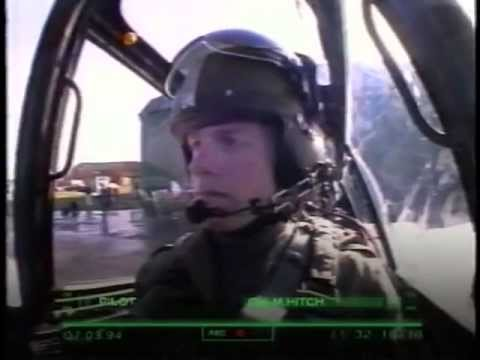 Flying Soldiers episode 1 - BBC 1997 documentary about trainee army helicopter pilots in the uk