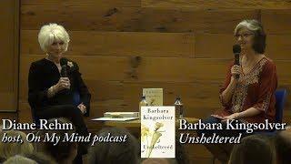 "Barbara Kingsolver, ""unsheltered"" (w/ Diane Rehm)"