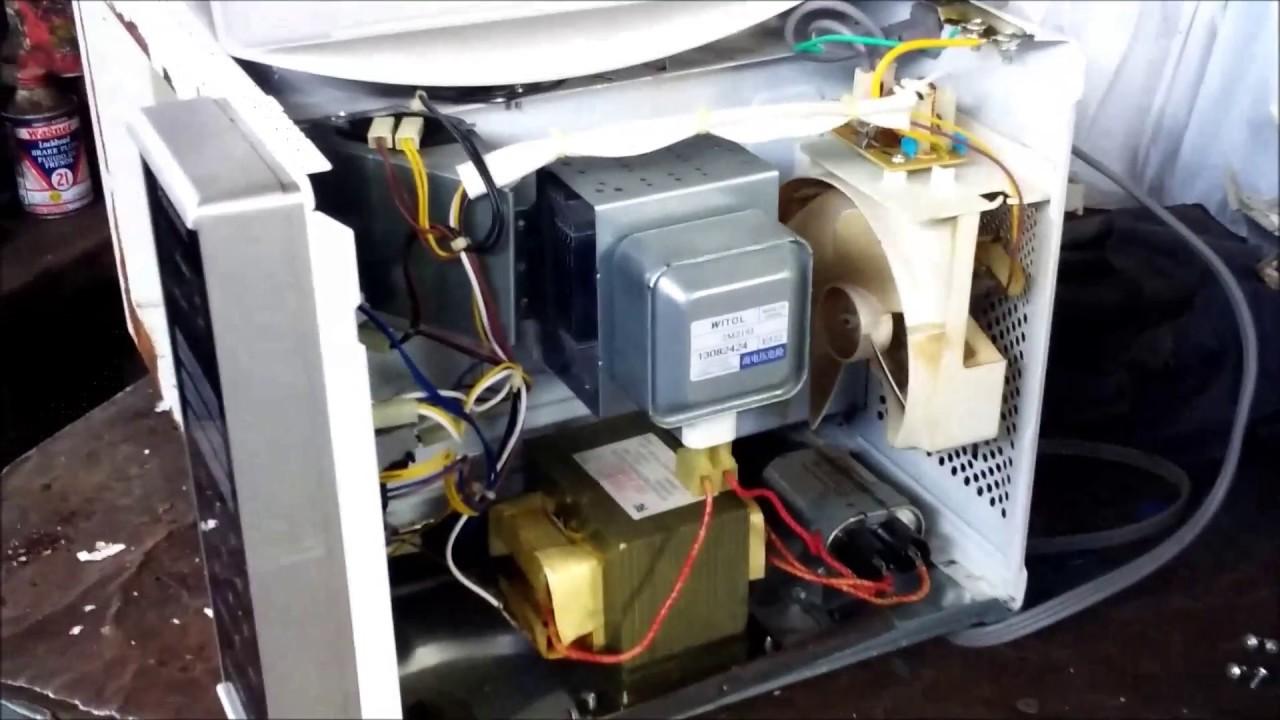 Reparación Casera Horno Microondas Oxidado Perforado Con Cdrom Youtube