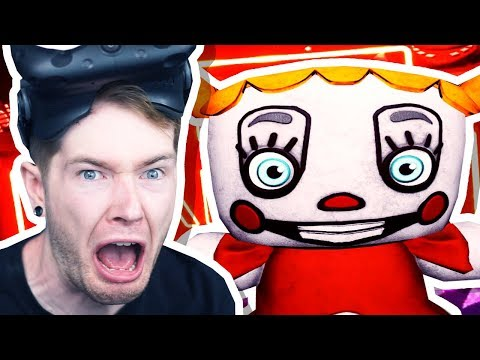 FNAF VR: I'm Scared Of The Dark.. There's Babies There..