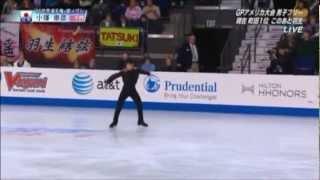 スケートアメリカ2012の演技に、ラフマニノフのピアノ協奏曲第2番...
