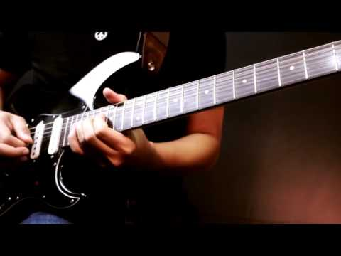 TOTO - I'll Be Over You Solo Cover (Guitar Improvisation)