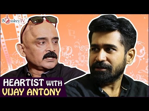 I started acting for money - Vijay Antony | Exclusive Interview | Heartist | Bosskey TV