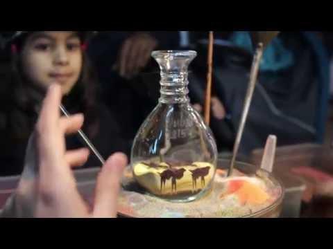 """Art of Dubai - """"Bottle Sand Art"""""""
