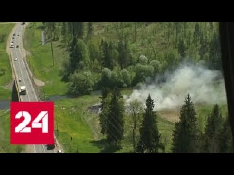 В Подмосковье усовершенствовали систему защиты от лесных пожаров