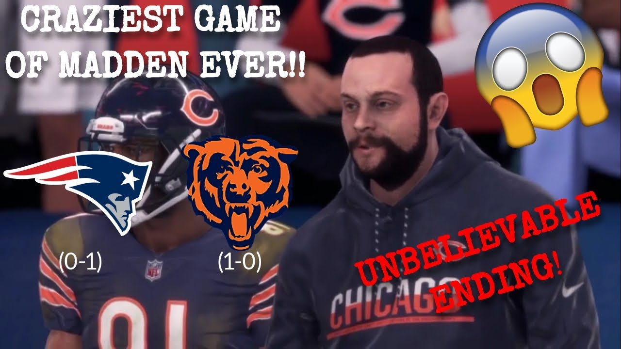 Chicago Bears Connected Franchise Part 6 | Home Opener vs New England Patriots | Insane Ending!