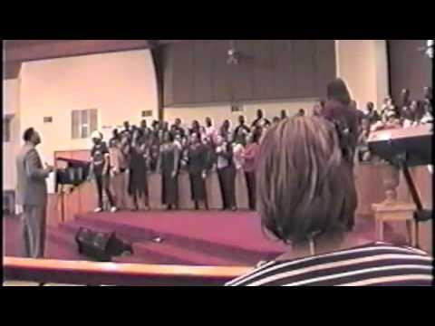 the combined choir twu gospel fest