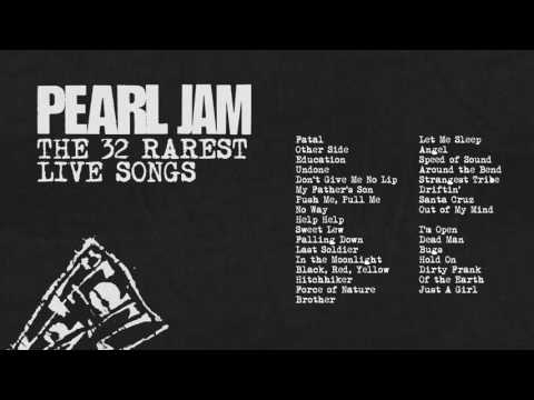 Pearl Jam – The 32 Rarest Live Songs