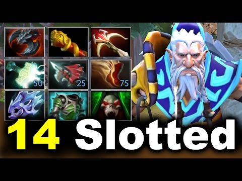 14 Slotted Imba Lone Druid vs MEGACREEPS by Matrice 7.02 Dota 2