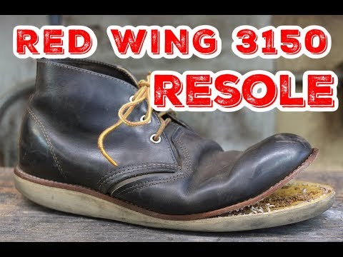 RED WING 3150 | NOT REMOVING WELT | Resole #51