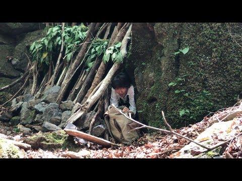 ユーチューバー、山で遭難する Survival in japan