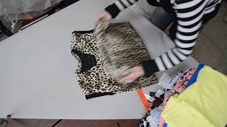 Секонд хенд женский микс крем  / Second hand wholesale clothing