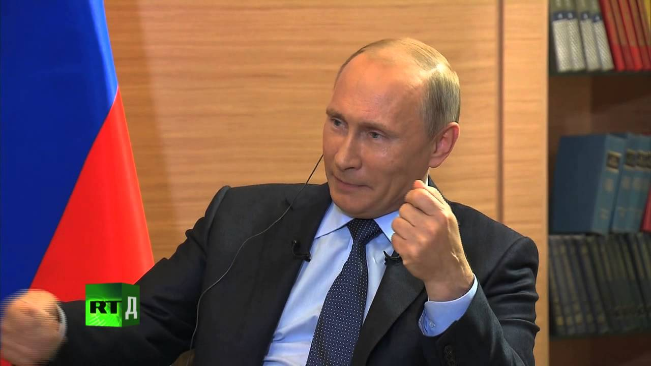 Актуальное интервью: Владимир Путин