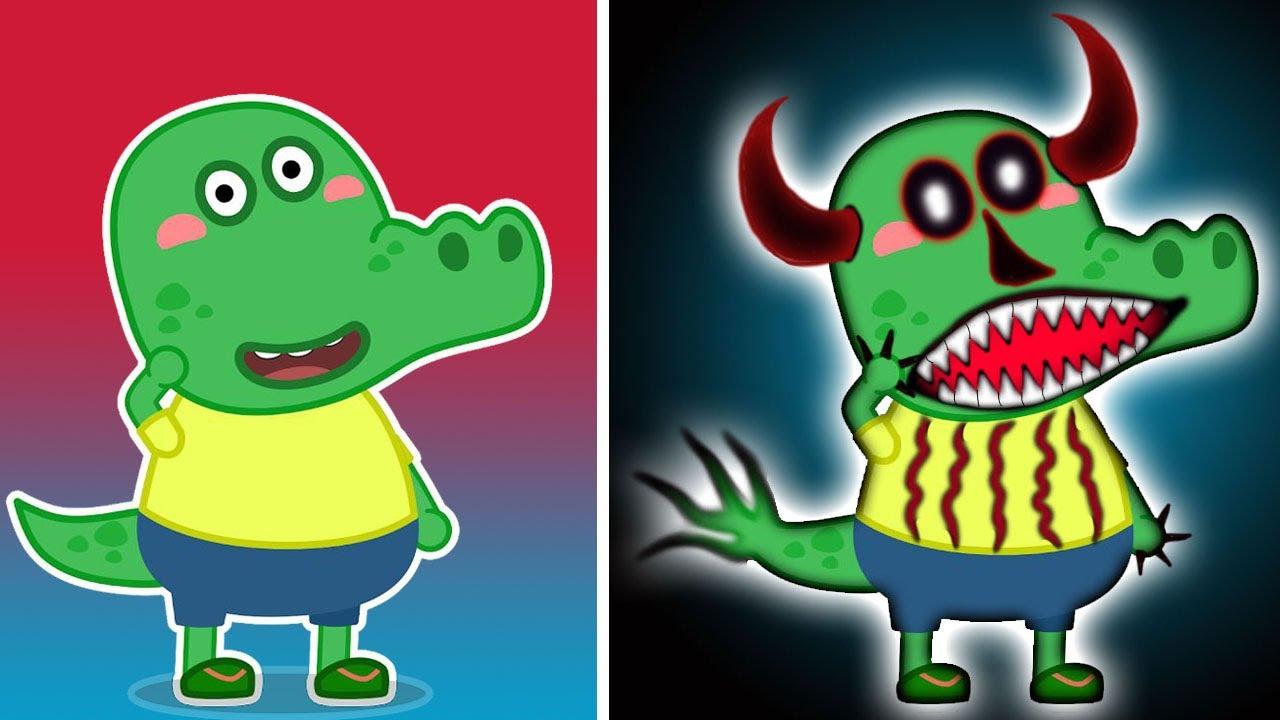 WOLFOO'S CHARACTERS CROCO As Zombies Version | SpeedEdit Art