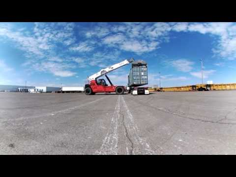 360 video: Port of Duluth's new container terminal