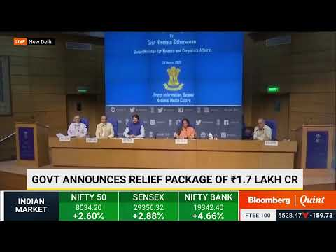Finance Minister On India's Action Plan To Deal With Coronavirus