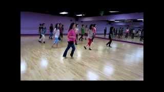 Party Freaks & Alcohol ~ Kim Ray - Line Dance (Danced & Walk thru)
