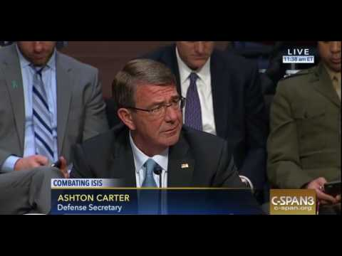 "American Defense Secretary Ashton Carter confirms ""substantial ties"" between the PYD/YPG and PKK"