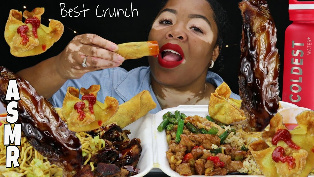 ASMR EATING CHINESE FOOD FEAST MUKBANG l EATING SHOW