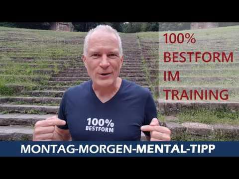 Mental Tipp 100% geben um 100% zu erhalten, das gilt im Sport, im Beruf und im ganzen Leben