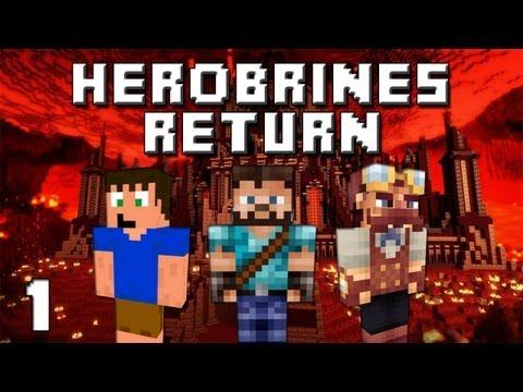 Minecraft: Herobrines Return Ep. 1 - He's Back!