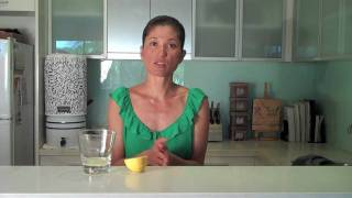 "Yoga Tip: ""wake-up Wonder Drink - Lemon & Ginger Tea"" By Jemma Rivera From Jinglife.com.au.mov"